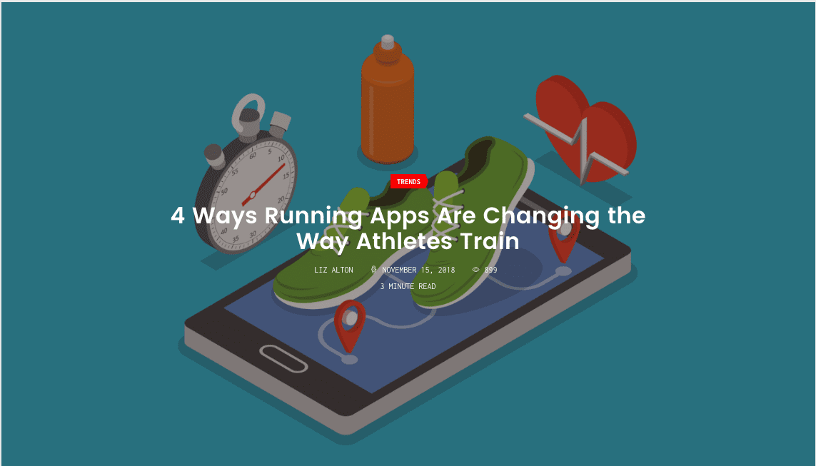 4 Ways Running Apps Are Changing the Way Athletes Train