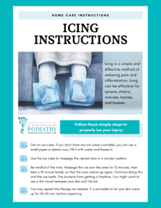 icing instructions