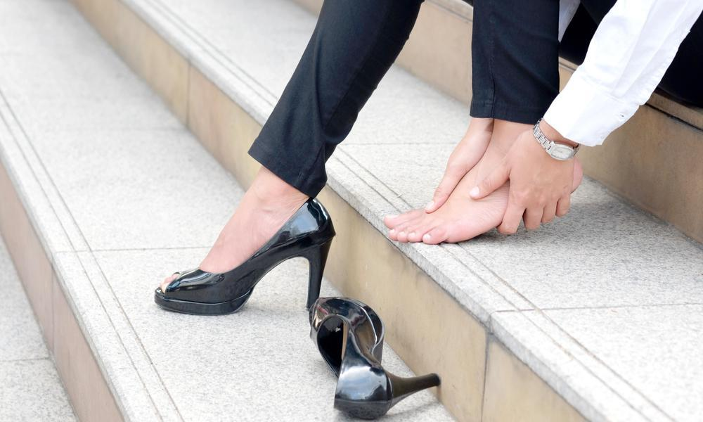women foot