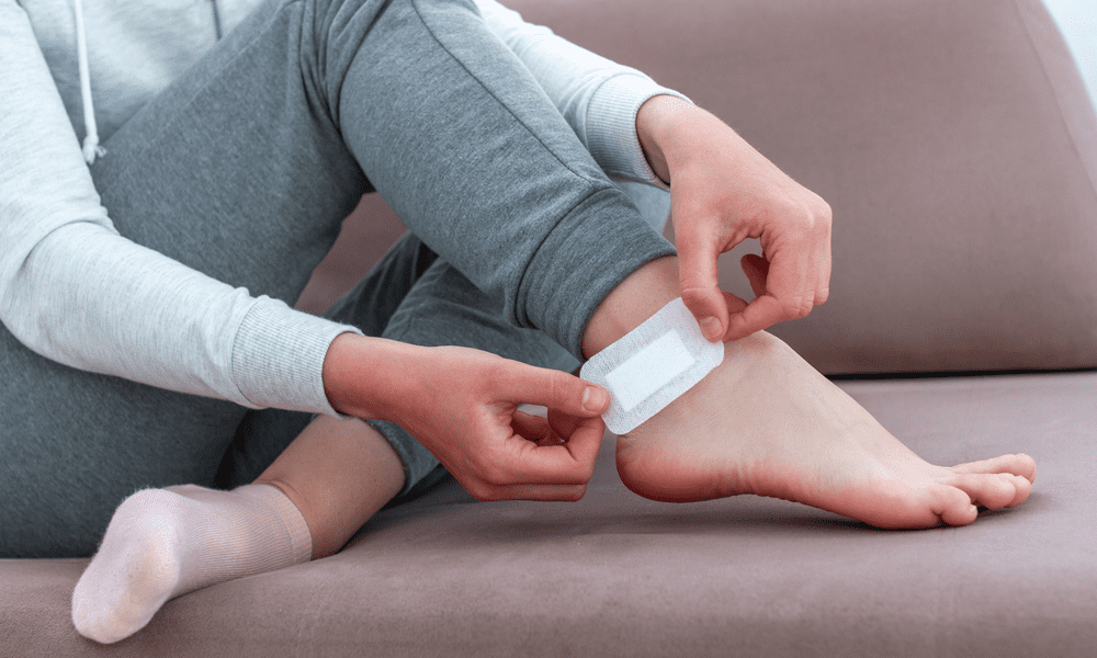 soothe aching feet