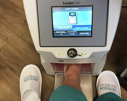 Laser Therapy at Premier Podiatry